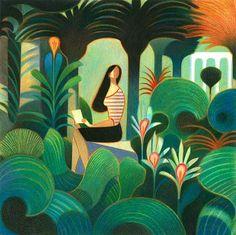 Andrea Serio Illustrations Art And Illustration, Rabbit Illustration, Illustrations And Posters, Sketch Painting, Art Sketchbook, Cute Art, Vector Art, Illustrators, Pop Art