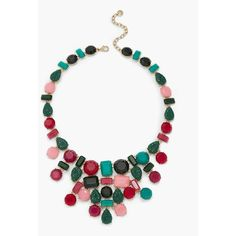 Talbots Women's Frosted  Textured Necklace (21.245 HUF) ❤ liked on Polyvore featuring jewelry, necklaces, talbots, lobster clasp necklace, glitter jewelry, talbots jewelry and long necklace