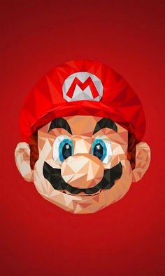 Mario Bros artwork wallpaper