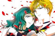 Sailor Neptune and Sailor Uranus / Michiru & Haruka
