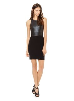 Dresses for Women Fashion Wear, Fashion Dresses, Fashion Black, Leather Fashion, Spring Fashion, Pretty Dresses, Dresses For Work, New Years Dress, Holiday Outfits