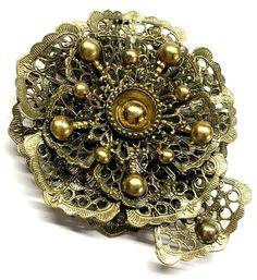Antiques For Sale, New England, Filigree, Fur, Brass, Ebay, Beautiful, Jewelry, Jewlery