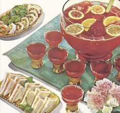 Retro Christmas Party | 63 Vintage Christmas Party Recipes from 1958