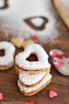 Easy cut out cinnamon spiced cookies. These are the best cinnamon cut out cookies. No chilling and no creaming is required. Cinnamon Cookies, Spice Cookies, Heart Cookies, Cut Out Cookies, Cinnamon Hearts, Jello Recipes, Candy Recipes, Cookie Recipes, Dessert Recipes