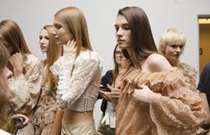 Spring 2017: Behind the scenes at New York Fashion Week