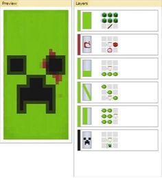 Creeper Banner - Minecraft - The Effective Pictures We Offer You About kids Furniture A quality picture can tell you many things. You can find the most beautiful pictures t Plans Minecraft, Images Minecraft, Minecraft Food, Minecraft Tutorial, Minecraft Blueprints, Minecraft Creations, Minecraft Crafts, Minecraft Designs, Creeper Minecraft