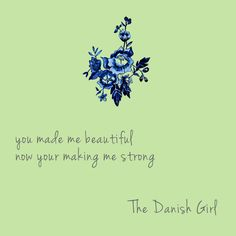The Danish Girl | On The Verge of Me