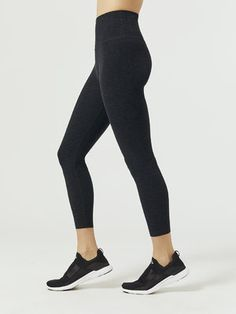 403f1a9c404 BEYOND YOGA Spacedye Caught In The Midi High Waisted Legging Darkest Night 7  8 LENGTH