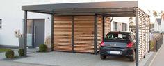 Der Carport von Siebau. Der beste Carport aus Stahl.: Modern Garage & Schuppen von Siebau Raumsysteme GmbH & Co. KG