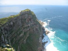 The Southern most tip of Africa it is...South Africa. Where Atlantic Ocean meets the Indian Ocean...A spectacular display it is!