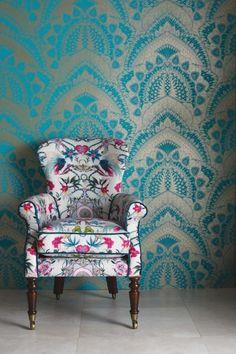 Matthew Williamson - Azari Wallpaper - 6 Colours Available