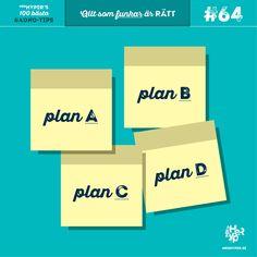 ADHD-tips #64. Hur man undviker katastrofer med plan B, C, D… | MrsHyper