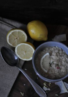 The most lemony risotto on earth without being sour - the taste of summer! | liebesseelig.blogspot.de