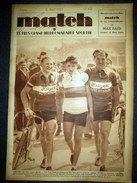 MATCH l´Intran #451 Sport CYCLISME Paris Nice Vietto FOOTBALL Paris Vienne RUGBY 1935   For sale on Delcampe
