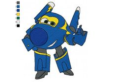Super Wings Jerome 01 Embroidery Design More Details: http://www.newembroiderydesign.com/super_wings_jerome_01_embroidery_design.html?tracking=561f671eac20c
