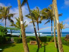 Sunset Beach Vacation Rental - VRBO 443153 - 2 BR North Shore Oahu Bungalow in HI, Tropical Oasis North Shore Ocean Front Backyard Bungalow!
