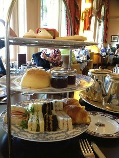 Afternoon Tea - The Empress Hotel in Victoria, BC The scones were the best!