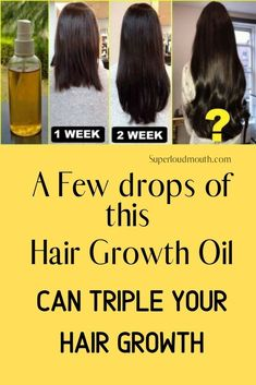 These Natural Hair Oils promise to give you Stronger and Healthy Hair growth