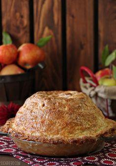 Mile High Apple Pie - SugarHero