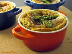 Per sucar-hi pa: Soufflé de espárragos verdes al aroma de Roncal