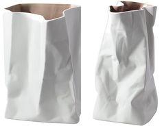 jarron bolsa papel