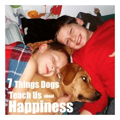7 Things We Can Learn from Dogs about Happiness