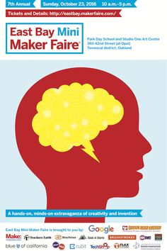 East Bay Mini Maker Faire 2016 in Oakland, CA