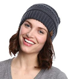 0b4777a08ca Tough Headwear Cable Knit Beanie - Thick
