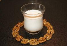 Diótej recept képpel. Hozzávalók és az elkészítés részletes leírása. A diótej elkészítési ideje: 25 perc Egg Replacement, Glass Of Milk, Drinking, Good Food, Dairy, Tej, Beverage, Drink, Healthy Food