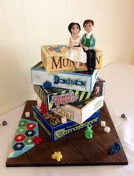 Image result for board game wedding cake