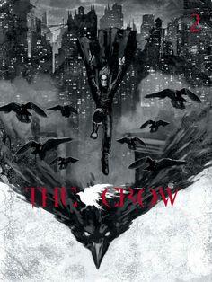 Brandon Lee, Bruce Lee, Movie Poster Art, Film Posters, Crow Movie, Creepy Comics, Comic Art, Comic Books, Geek Movies