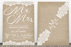 @Anna Leigh Page- this look made me think of you! Printed on paper but looks like burlap!