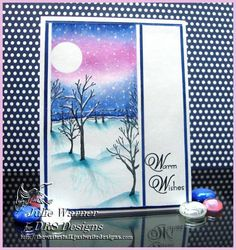 Warm Wishes Scene CC460 by justwritedesigns - Cards and Paper Crafts at Splitcoaststampers