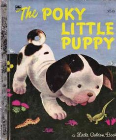 """""""The Poky Little Puppy""""  recycled golden book journal, just $14 delivered. Bonus: upon request I will create a crappy cell phone video in which I personally READ this book to you and post it to YouTube. Offer valid on ALL Golden book titles. Just fill in the comments form during check-out. Love, Jacob http://www.bookjournals.com  Also? All golden book titles contain ALL of the original content from the candidate book. They're just thin and it makes sense to include it all. Improve your…"""