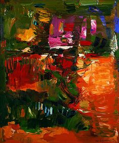 In the Wake of the Hurricane, 1960 Oil on Canvas Abstraction Hans Hofmann