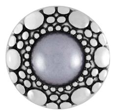 Ginger Snaps Mist Grey Pearl Snap