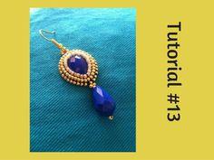 TUTORIAL PERLINE [13] - Rifinitura embroidery alternativa. No brickstitc...