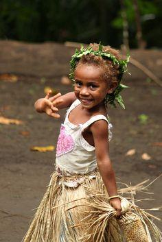 Oceania: Ni-Vanuatu girl