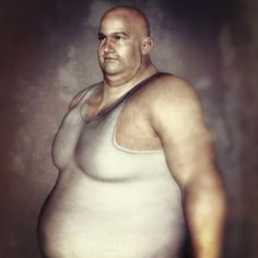 fat man ... 3ds max + photoshop + onone perfect effects suite