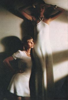 Pat Cleveland wearing Christopher McDonnell.