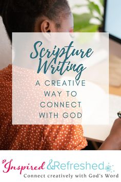 I can't believe how scripture writing has grown my faith and trust in God. Try this spiritual exercise and you will be surprised how you really internalize the meaning of scripture and hear God speak to your deepest need. This is a great faith builder! CLICK TO LEARN MORE & for my full tutorial and a FREE PRINTABLE! #inspiredandrefreshed #scripturewriting #scripture #biblestudy Encouraging Bible Quotes, Bible Verses Quotes, The Afflicted, Seek The Lord, Seeking God, Illustrated Faith, Study Inspiration, Knowing God, S Word