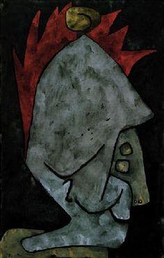 Paul Klee - Mephisto als Pallas,