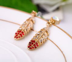 Beautiful Leaves Dangle Earrings
