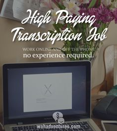 Online transcription work is one of the most common vocations for individuals wishing to transition to the work-at-home world. The work is relatively straight-forward, often interesting, and generally very flexible in terms of required working hours. The only drawback is that it is certainly not known for its lucrative pay. If you're a transcriptionist sick …
