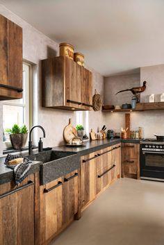 Home Interior Decoration .Home Interior Decoration Kitchen Room Design, Home Decor Kitchen, Rustic Kitchen, Country Kitchen, Kitchen Interior, Industrial Kitchen Design, Interior Paint, Cheap Home Decor, Home Remodeling