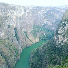 Cañón del Sumidero. Chiapas.