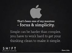 Image result for real artists simplify steve jobs quote