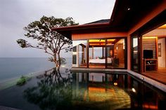 Sri Panwa Phuket is the best luxury pool villa hotel resort and spa in Phuket Thailand. All luxury villas with private pool offer panoramic ocean view. Phuket Resorts, Hotels And Resorts, Villa Phuket, Luxury Resorts, Romantic Resorts, Luxury Pools, Family Resorts, Architecture Design, Luxury Bedrooms