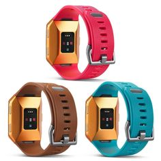 PINK TEAL BROWN 3PK New Small Replacement Wristband Strap Band For FITBIT IONIC | eBay
