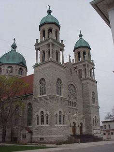 The Basilica of St. Adalbert is where I go to pray my Rosary. : D